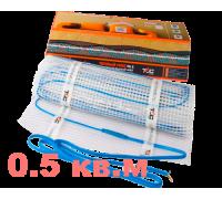 Нагревательный мат 0.5 м² 75Вт